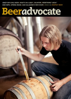 Ryan Michaels McKenzie Brew House Brewer BeerAdvocate Magazine Cover