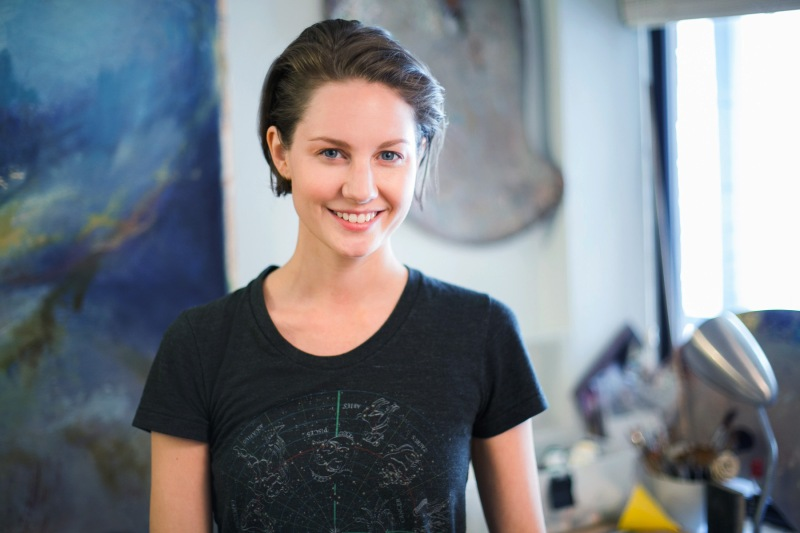 Portrait of Artist Anna Fox Ryan
